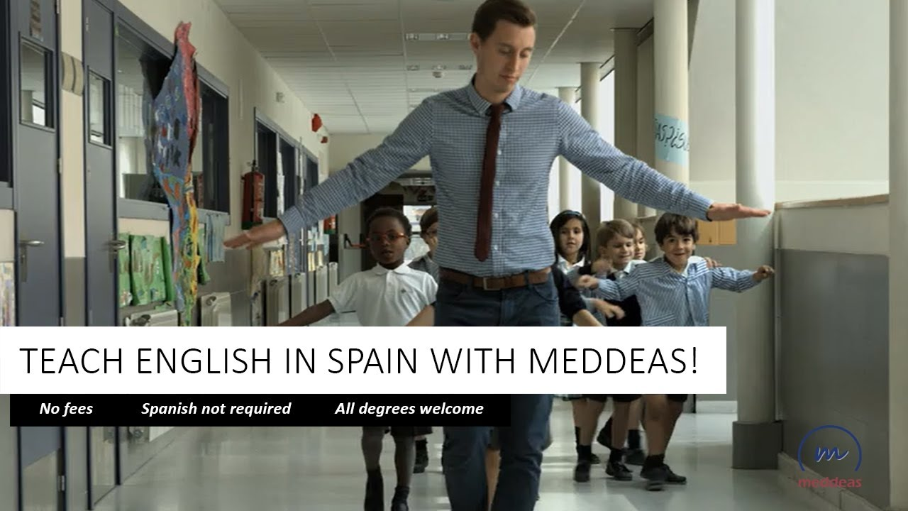 Teach English in Spain as a Language Assistant with Meddeas