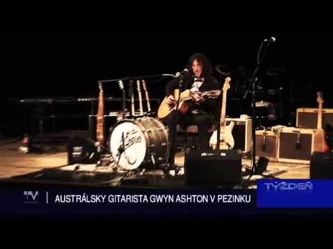 Gwyn Ashton solo - TV Pezinok, Slovakia