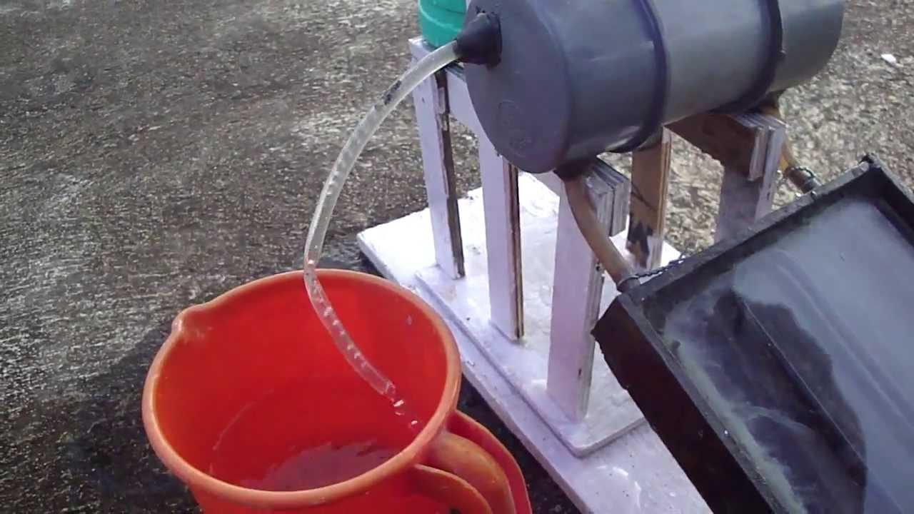 Solar Water Heater Simple Model