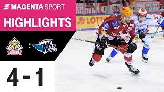 Pinguins Bremerhaven - Schwenninger Wild Wings | 24. Spieltag, 19/20 | MAGENTA SPORT