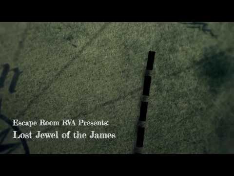 Lost Jewel of the James - Escape Room RVA
