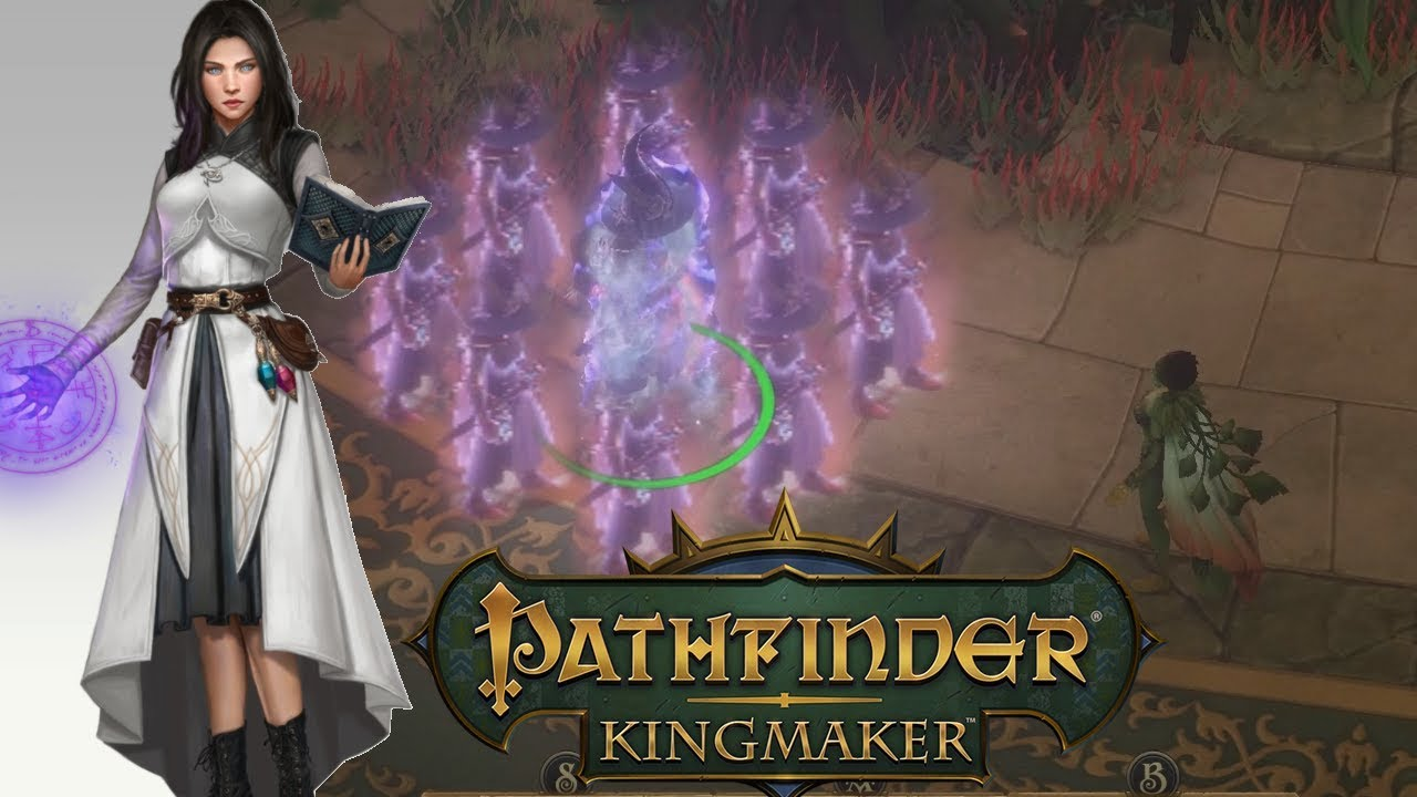 Pathfinder Kingmaker 1 1, House at the Edge of Time Part 2 DC Sorcerer Solo  Unfair