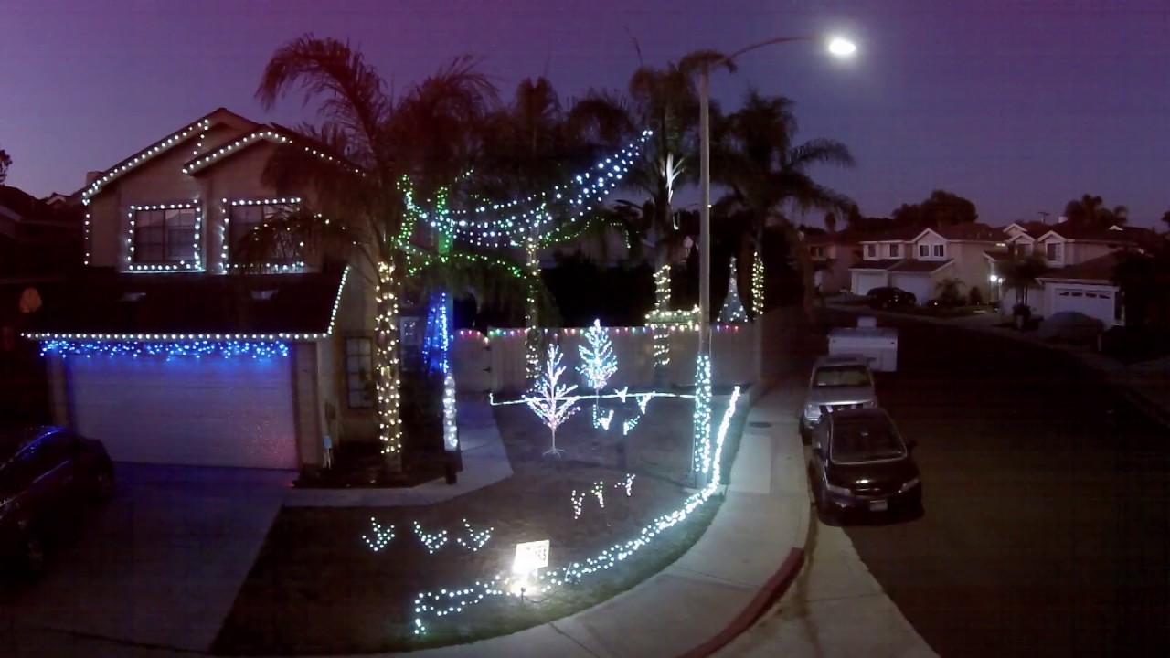 Christmas Light Show using a Raspberry Pi and LightShow Pi software ...