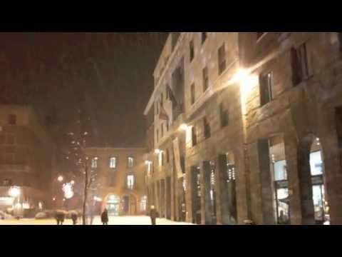 Natale a Cremona con neve