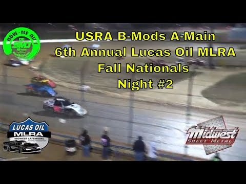 $3000 to win USRA B-Mods A-Main 6th Annual Lucas Oil MLRA Fall Nationals  Night #2