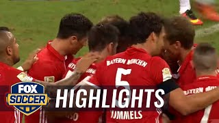 Alonso's sensational goal gives Bayern Munich 1-0 lead | 2016–17 Bundesliga Highlights