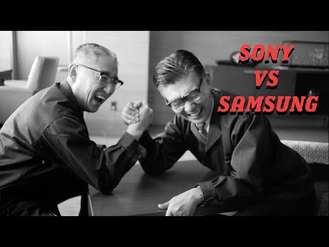 The History Of Sony And Samsung