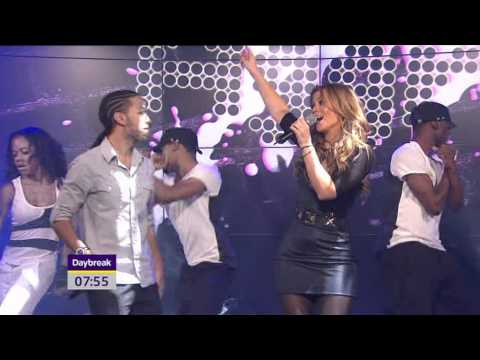 Kimberley Walsh & Aggro Santos Like U Like - Live - 17 January 2011