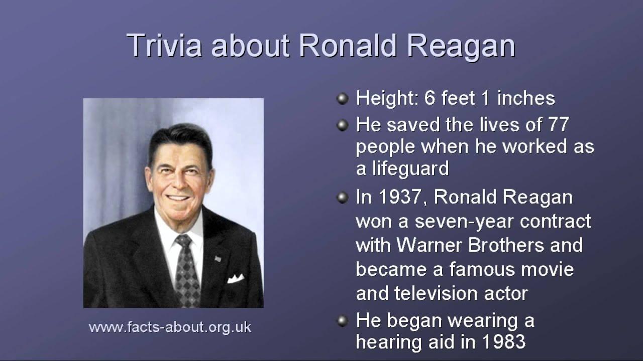 President Ronald Reagan Biography Youtube