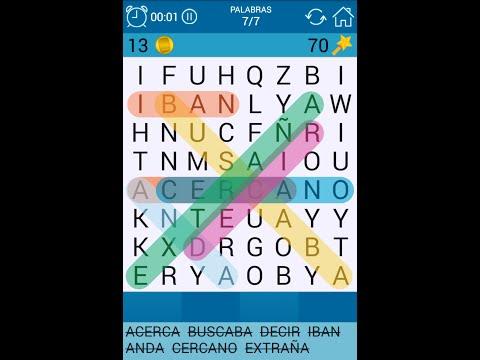 Juego de Sopa de Letras para Android