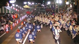 福井大学よっしゃこい2013年度演舞「夢光咲」 フェニックス祭りパレード...