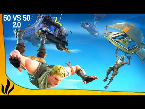 LE MODE 50 VS 50 2.0 EST VRAIMENT ÉPIQUE ! (Fortnite: Battle Royale)