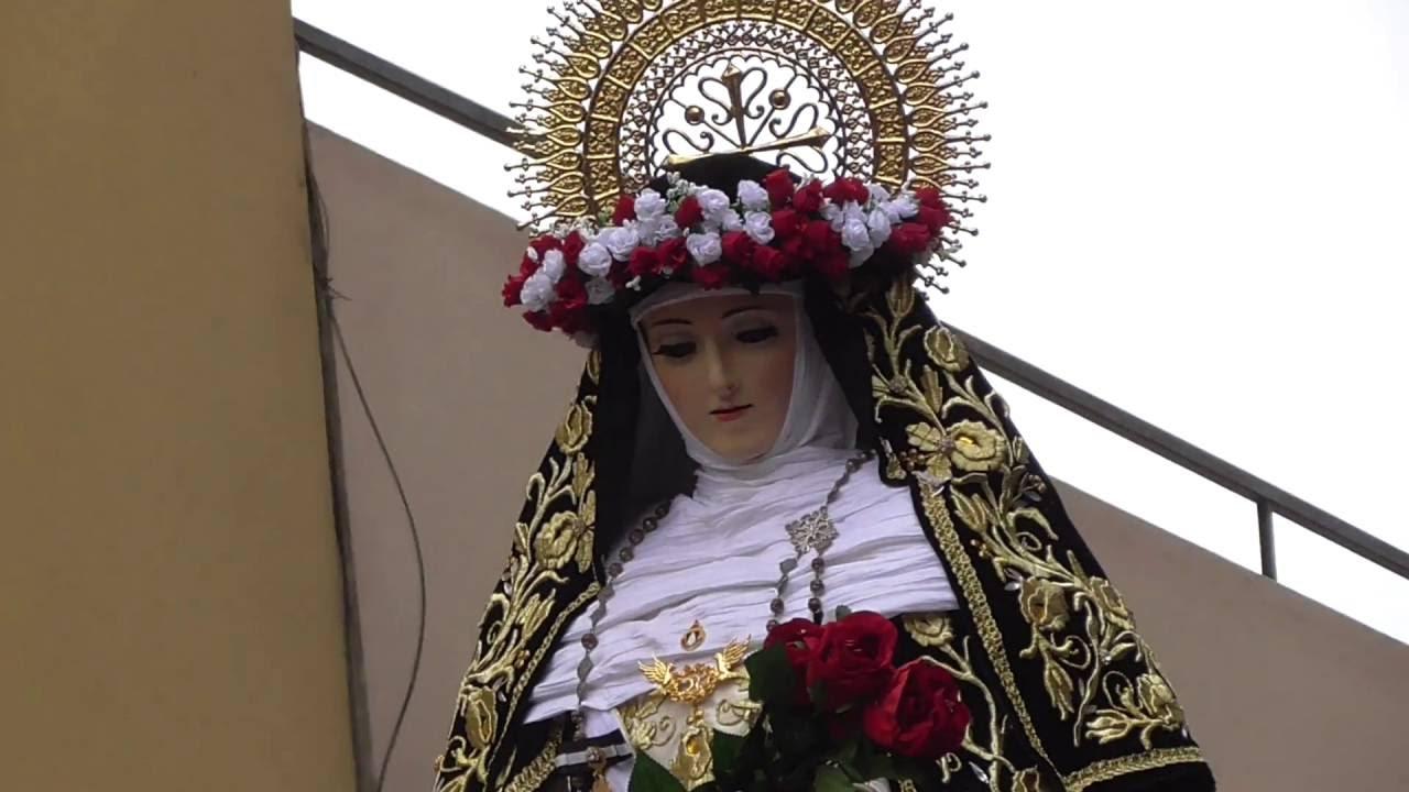 Procesión de Santa Rosa de Lima Convento Santo Domingo ...