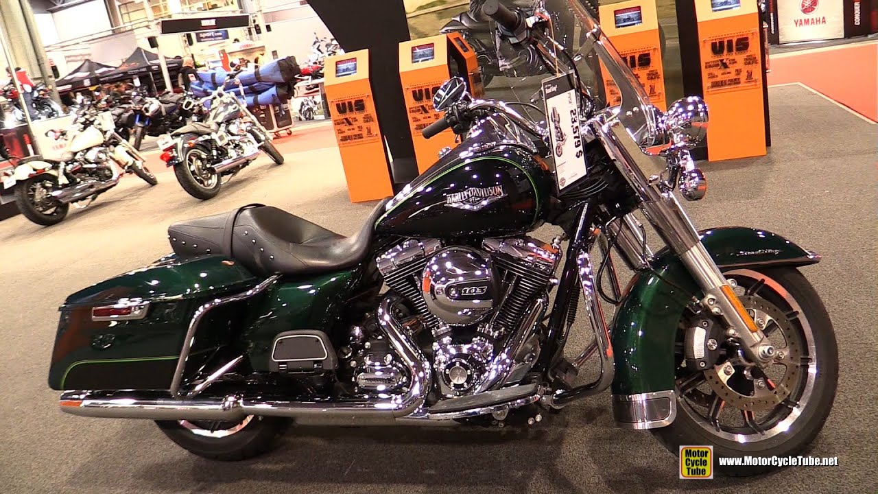 Extrêmement 2015 Harley-Davidson Touring Road King - Walkaround - 2015 Salon  EC45