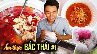 NHỮNG MÓN ĂN LẠ MÀ NGON. Du lịch Chiang Mai #1 |Ẩm thực Thái Lan