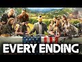 Far Cry 5 EVERY ENDING (Secret Ending Good & Bad Ending) Resist & Walk Away