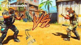 1v1 vs THE #1 BLACK OPS 4 KNIFER in THE WORLD!!