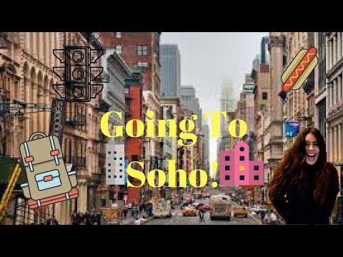 GOING TO SOHO!   Audra Baruch