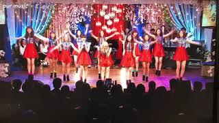 2015.4.10に放送された「僕らの音楽」からの一場面 照れながらも踊る中...