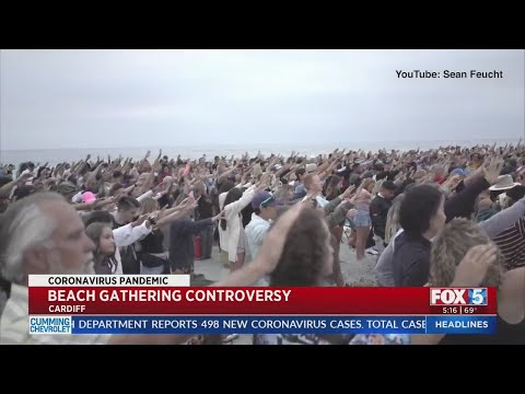 Local Officials Concerned About Large Religious Service On Beach