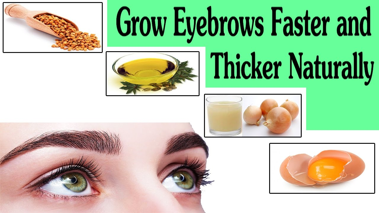 Top 5 Home Remedies That Will Help Grow Eyebrows Thicker And ...
