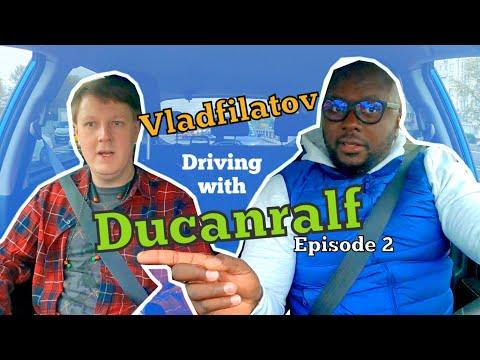 FILATOV VLAD DRIVING WITH DUCANRALF IN MOSCOW RUSSIA ! Episode 2 #Filatovvlad