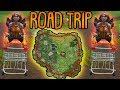 ROAD TRIP CHALLENGE! | (einmal um die komplette Karte) | Fortnite Battle Royale