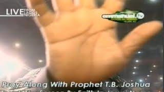 SCOAN 11/01/15: Mas Prayer, Prayer For Viewers With TB Joshua. Emmanuel TV