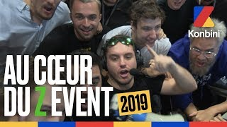 Au cœur du Z Event 2019 avec ZeratoR, Squeezie, Domingo, JDG, Antoine Daniel, Mistermv... | Konbini