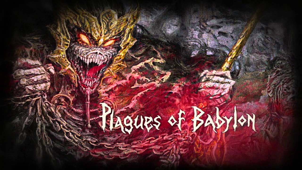 ICED EARTH - Plagues Of Babylon (Lyric Video) - YouTube