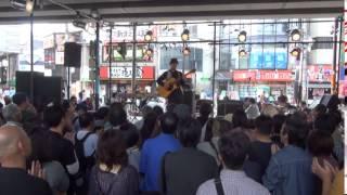 高槻ジャズストリート2015 わたなべゆう&初田悦子(阪急高架下ステージ)