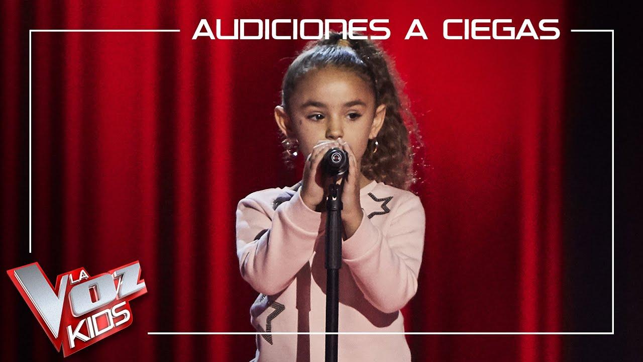 Download Samira Cuesta canta 'Válgame Dios'   Audiciones a ciegas   La Voz Kids Antena 3 2021