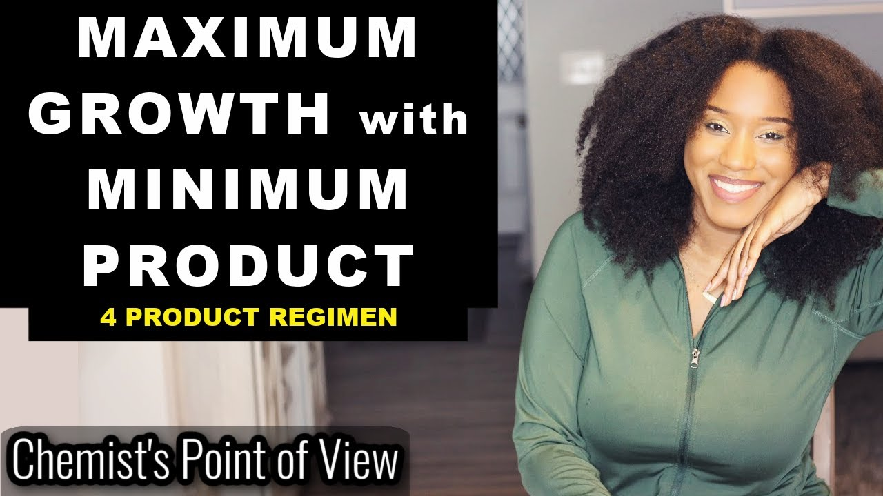 MAXIMUM HAIR GROWTH WITH MINIMUM PRODUCTS!