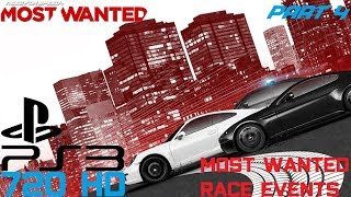 Need for Speed Most Wanted 2012 (PS3) - Part 4 [Most Wanted Race Events]
