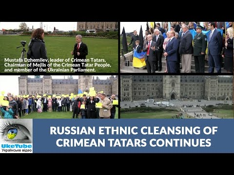 Canada stands with Crimean Tatars, welcomes Mustafa Dzhemilev
