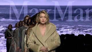 Gigi Hadid headlines the Max Mara Fall Winter 2016-17 Campaign