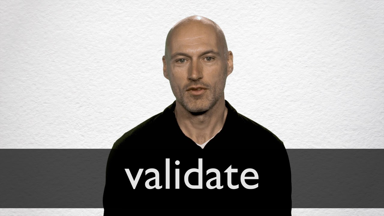 Validate Synonyms | Collins English Thesaurus