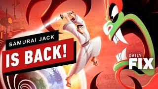 First Look at Samurai Jack: Battle Through Time - IGN Daily Fix