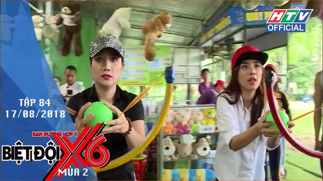 image HTV BIỆT ĐỘI X6 | Sĩ Thanh, Xuân Phúc giả ninja chơi phóng phi tiêu | BDX6 #84 FULL | 17/8/2018