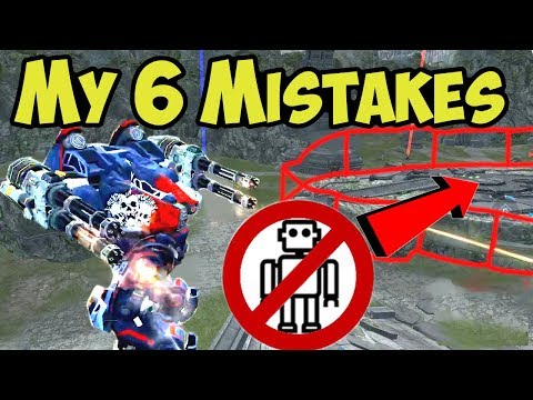 War Robots My 6 Mistakes You Better Avoid - Battle Analysis