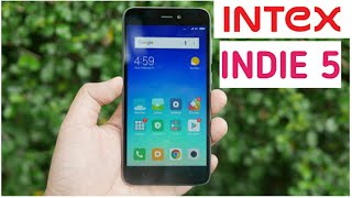 Intex Indie 5 Review| Intex Indie 5 Vs Xiaomi Redmi 5 A|Camera Comparison