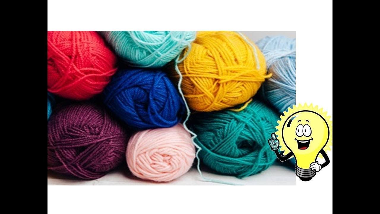 Knitting Yarn Crafts Without Kids