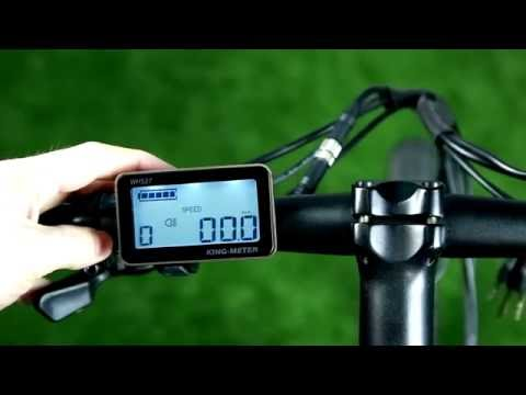 Dyson Bikes 26 inch 24-speed folding electric bike display instructions