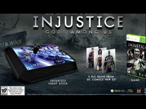 Injustice Gods Among Us: Battle Edition and US Collectors Edition!