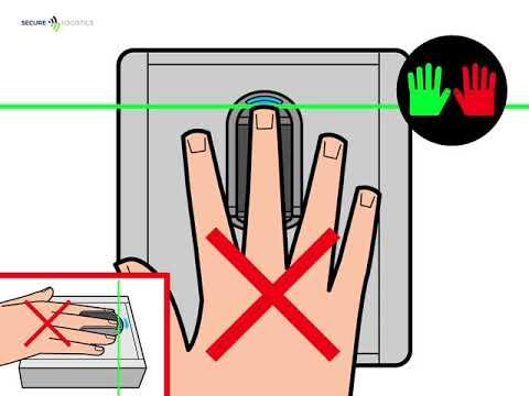 Hoe maak ik een goede Fingerveinverificatie?