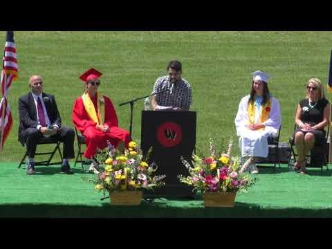 Spose Commencement Speech Wells High School Graduation 2018 - Wells, Maine