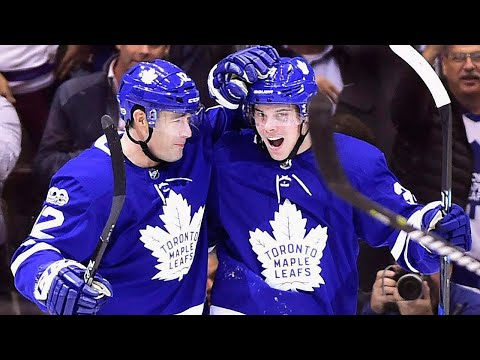 Patrick Marleau on learning curve with Maple Leafs, jokes about adopting Marner & Matthews