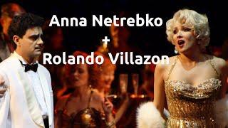 """Massenets """"Manon"""" mit Anna Netrebko (Manon Lescaut) und Rolando Villazón (Le Chevalier Des Grieux)"""
