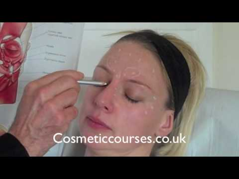 Botox training 2:  Where to place Botox injections