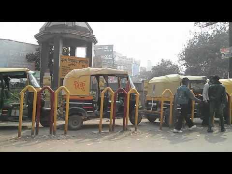 A road journey in Varanasi, India
